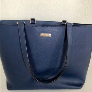 Blue Kate Spade Tote Bag
